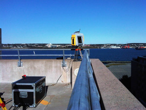Surveying near Halifax Harbour, NS