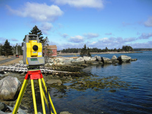 Hydrographic Survey at Harrigans Cove Wharf, NS