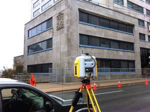 Deformation Survey at the Law Courts, Halifax